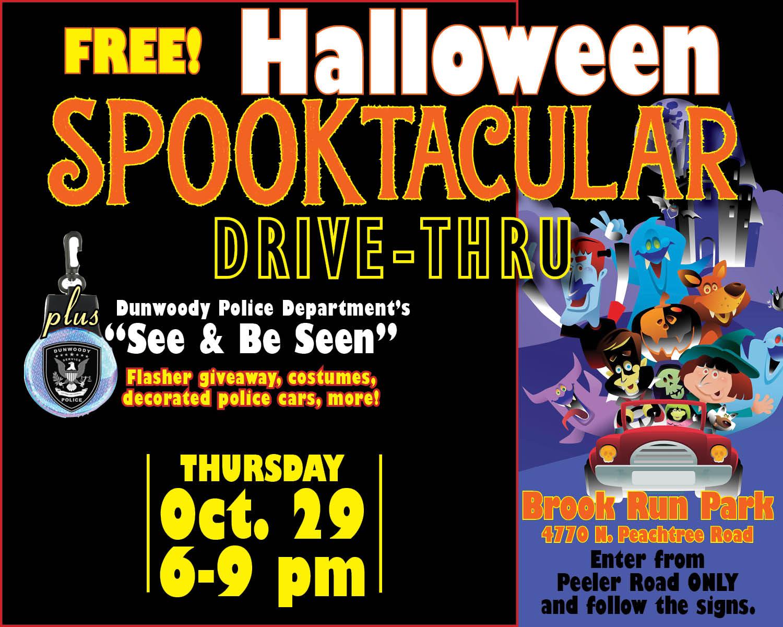 Halloween Spooktacular Drive-thru at Brook Run Park