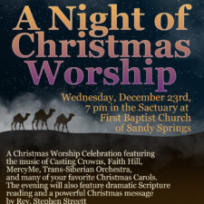 A Night of Christmas Worship at Misty Creek Community Church