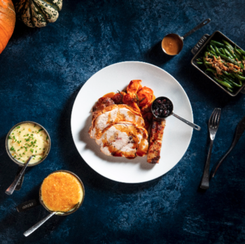 Eat, Drink, and Give Thanks on Thanksgiving at STK