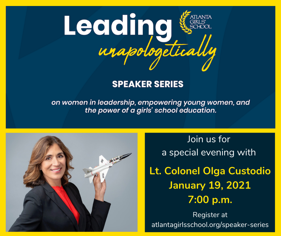 Leading, Unapologetically- Speaker Session featuring Lt. Colonel Olga Custodio