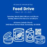 All Saints St. Vincent de Paul Food Drive