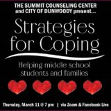 Strategies for Coping: Middle School