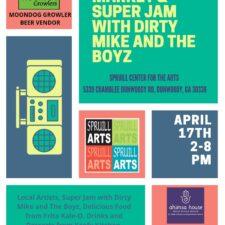 Spring Art Market & Superjam
