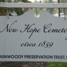 Clean Up Day at New Hope Cemetery