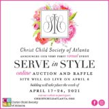 Christ Child Society of Atlanta's Serve In Style Virtual Fundraiser