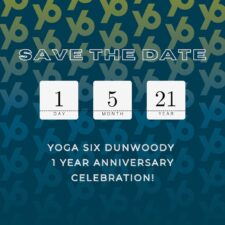YogaSix One Year Anniversary!