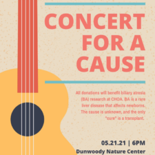 Concert for a Cause at Dunwoody Nature Center