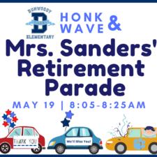 Mrs. Sanders Retirement from DES