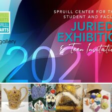Opening Receiption of the Spruill Center for the Arts Student and Faculty Juried show