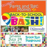 Back-to-School BASH to celebrate Parks & Rec Month